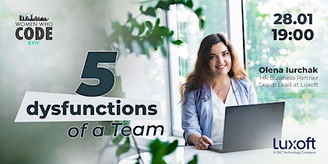 5 Dysfunctions of a Team tickets