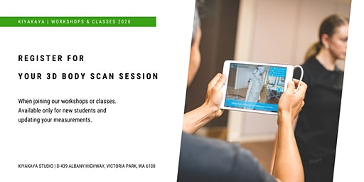 Register Here For Your 3D Body Scan