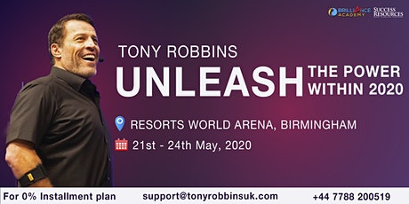 Tony Robbins -Unleash The Power Within (UPW Birmingham 2020)  tickets
