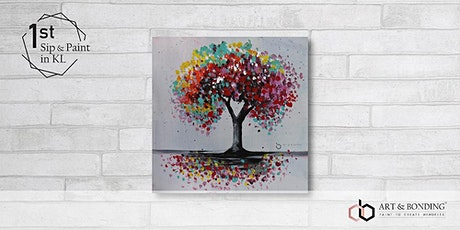 Sunday Sip & Paint : Colourful Tree tickets