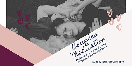 Couples meditation enriched by sound tickets