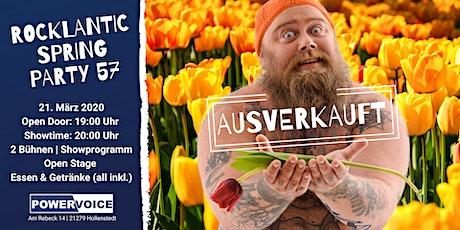 Rocklantic Spring Party 57 Tickets