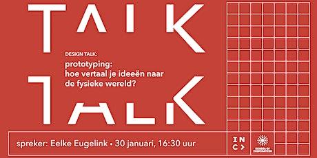 Design Talk: hoe vertaal je ideeën naar de fysieke wereld? tickets