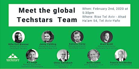 Meet the global Techstars team tickets