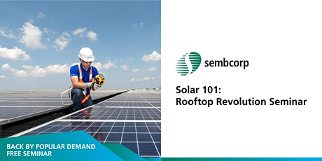 Solar 101: Rooftop Revolution Seminar tickets