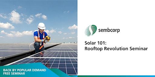 Solar 101: Rooftop Revolution Seminar