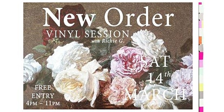 New Order Vinyl Session - 2020 Melbourne Concert Night tickets