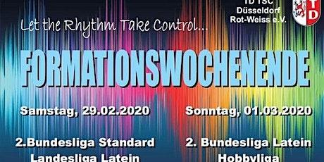 Formationswochenende Düsseldorf tickets
