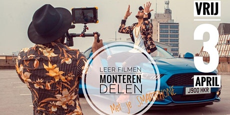 Videomarketing met je smartphone  I  Hoe doe je dat?   tickets