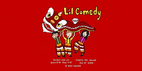 Lunar New Year with Lil Comedy tickets