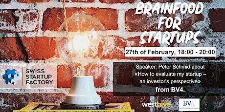 Brainfood for Startups tickets