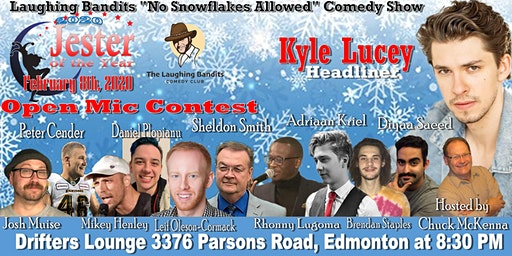 """Laughing Bandits """"No Snowflakes Allowed"""" Comedy Show Starring Kyle Lucey"""