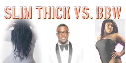 Slim/thick vs. BBW All White Affair
