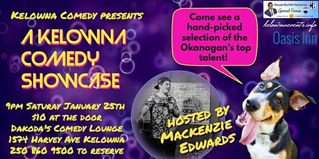 A Kelowna Comedy Showcase tickets