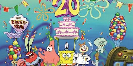 """SpongeBob SquarePants"" 20th Anniversary tickets"