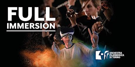 FULL IMMERSION: OFT incontra la Realtà Virtuale [Conservatorio 28 gennaio] biglietti