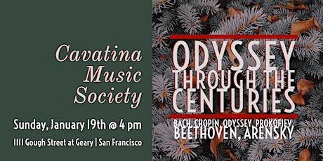 CSM Concerts | Cavatina Music Society tickets