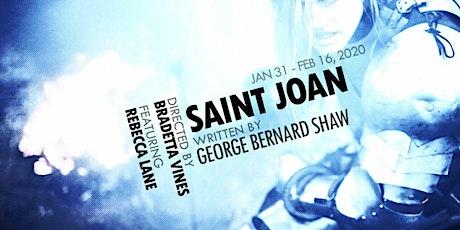 """Saint Joan"" tickets"