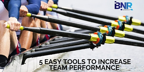 5 Easy Tools to Increase Team Performance tickets