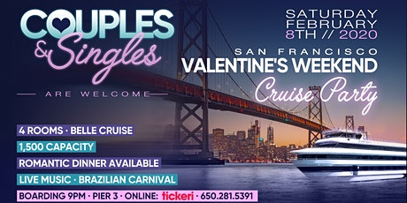 Valentine's at Sea! -- Singles & Couples Cruise Party tickets