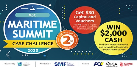 MSC Maritime Summit Case Challenge 2020 - Information Session tickets