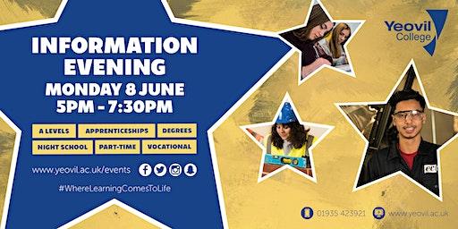 Yeovil College Information Evening - June 2020