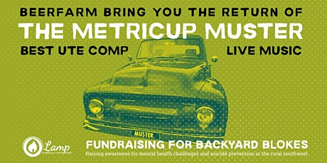 Metricup Ute Muster 2020 tickets
