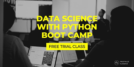 [Free Coding Trial Class] Data Science with Python Basics Boot Camp tickets