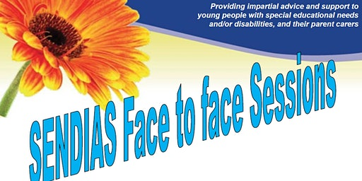*SOLD OUT* West Sussex SENDIAS Face to Face Session