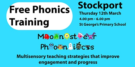 STOCKPORT FREE PHONICS TRAINING - St George's tickets