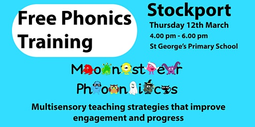 STOCKPORT FREE PHONICS TRAINING - St George's