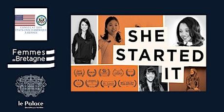 """Projection du film """"She started it"""" billets"""