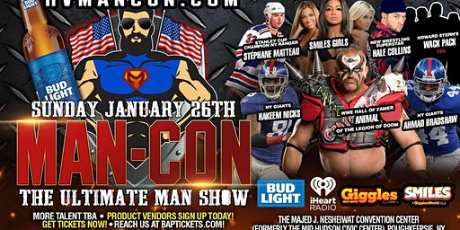 MAN-CON: The Ultimate Man Show