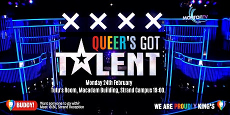 Proudly King's Queer's Got Talent tickets