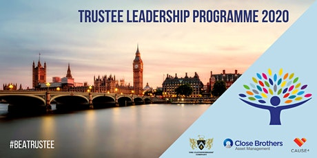 Trustee Leadership Programme - London Spring 2020 tickets