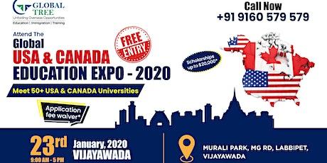 Global Education (USA & Canada) Expo 2020 - Vijayawada tickets