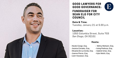 Good Lawyers for Good Governance Fundraiser for Sean Elo tickets
