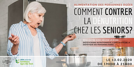 [Rencontre] La dénutrition chez la personne âgée billets