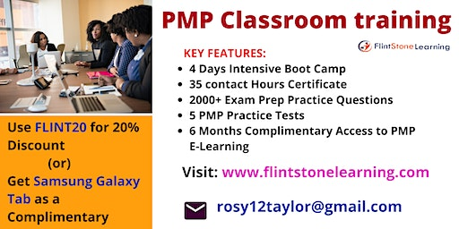 PMP Certification Training in Anderson, CA