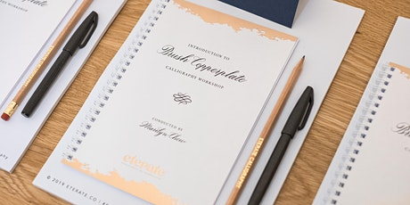 Private Workshop Introduction to Brush Pen Copperplate Calligraphy tickets