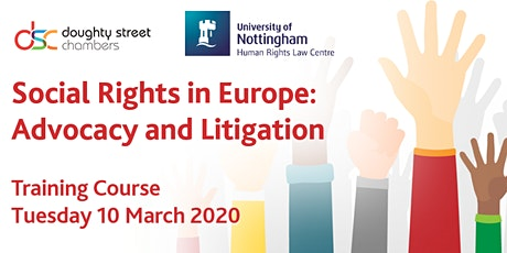 Social Rights in Europe: Advocacy and Litigation tickets