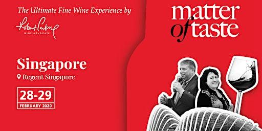 Matter of Taste Singapore 2020