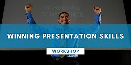 Winning Presentation Skills - PERTH tickets