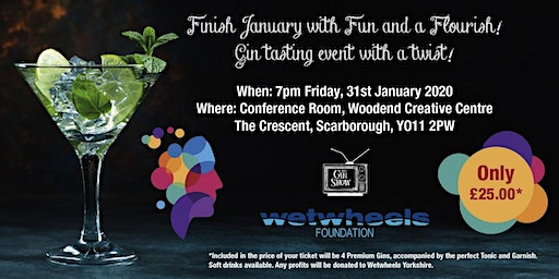 Gin tasting event with a twist!