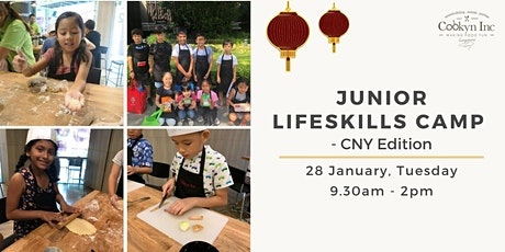 Junior Lifeskills Camp - CNY Edition tickets