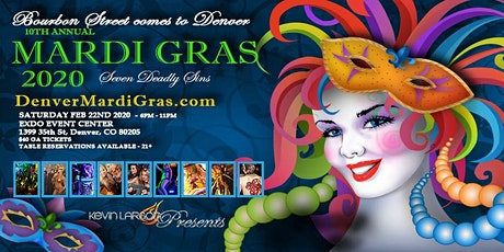 Denver Mardi Gras 2020 - 10th Annual tickets