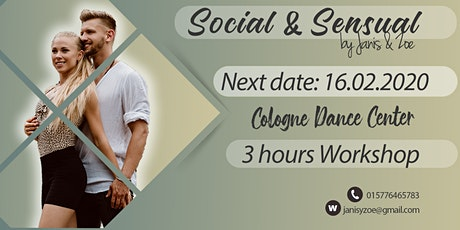 Social & Sensual Day with Janis & Zoé - February Edtition Tickets