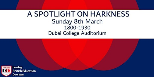 Harkness Presentation - Sunday 8 March 2020 @ 6pm