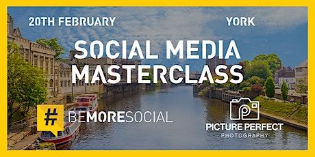 5 Fundamentals of Mastering Social Media - YORK tickets