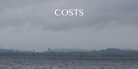 'Costs' - a documentary by Brazilian director Marilene Ribeiro tickets